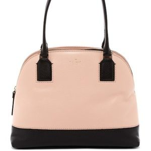 kate spade leather dome satchel